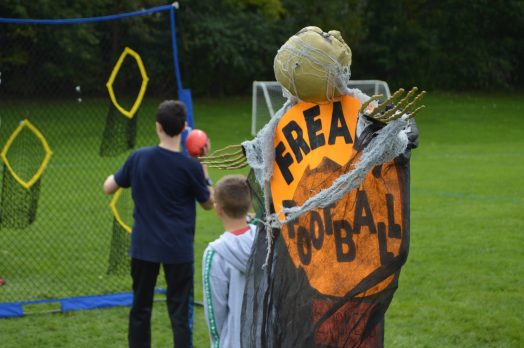 wellesley bates pumpkin fair football
