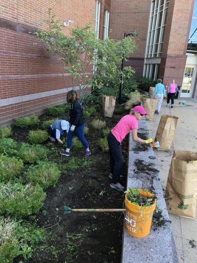 Wellesley High clean-up