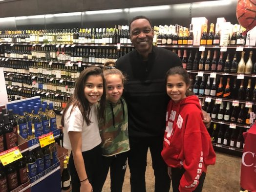 Isiah Thomas at Wellesley Roche Bros.
