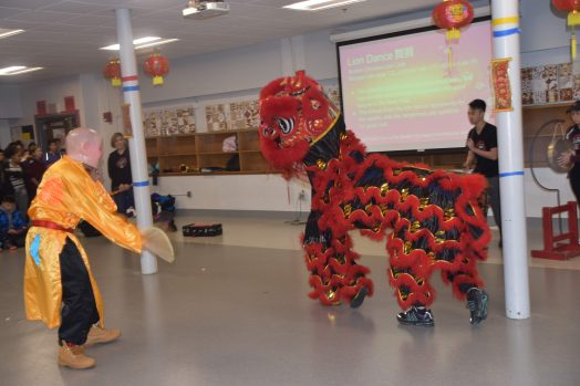 WMS CNY lion dance