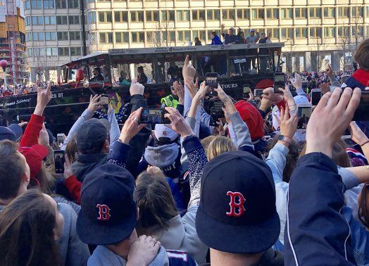 bill b patriots parade 2019
