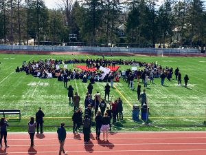 Wellesley High School walk out
