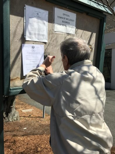 Special Town Meeting warrant is posted