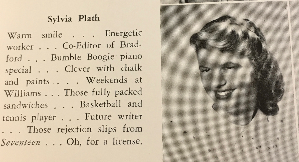 Sylvia Plath, yearbook entry