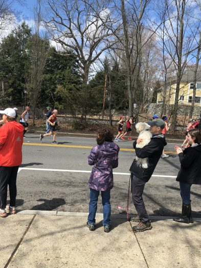 boston marathon wellesley 2019.
