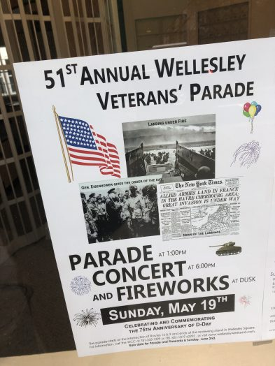 2019 wellesley parade poster