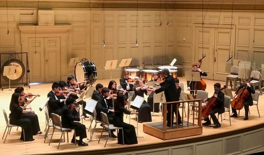 Wellesley HS, orchestra