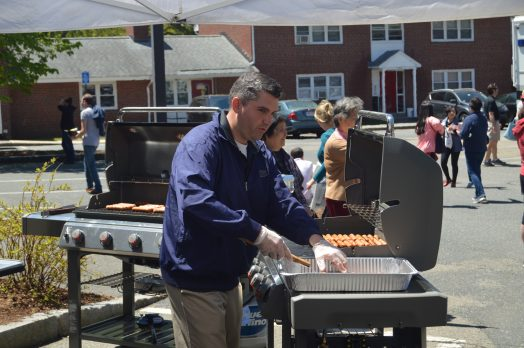 wellesley police open house hot dogs