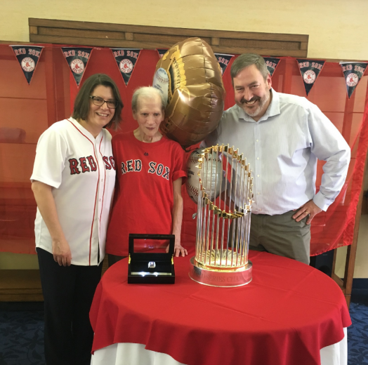 red sox trophy