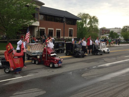 shriners at wellesley parade