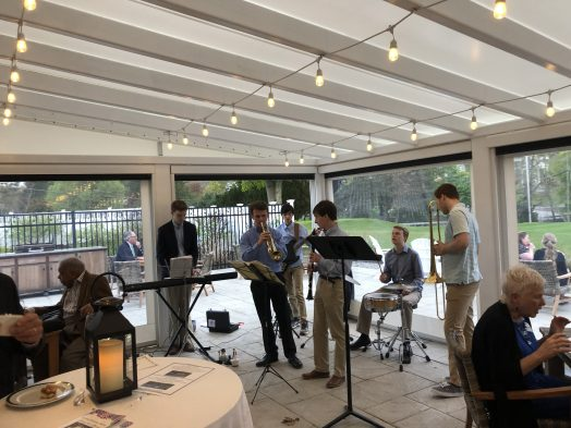 Wellesley High jazz musicians