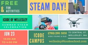 iCode STEM event, Wellesley