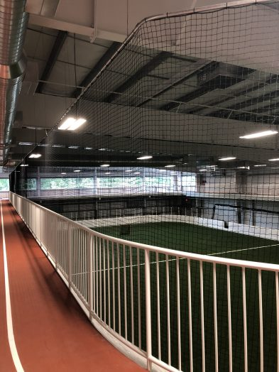 Indoor turf field at Boston Sports Institute