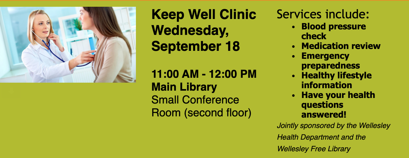 Wellesley Keep Well Clinic