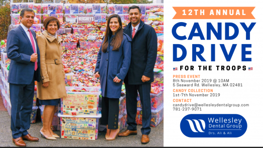 Wellesley Dental Group, Candy Drive