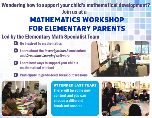 Wellesley math workshop