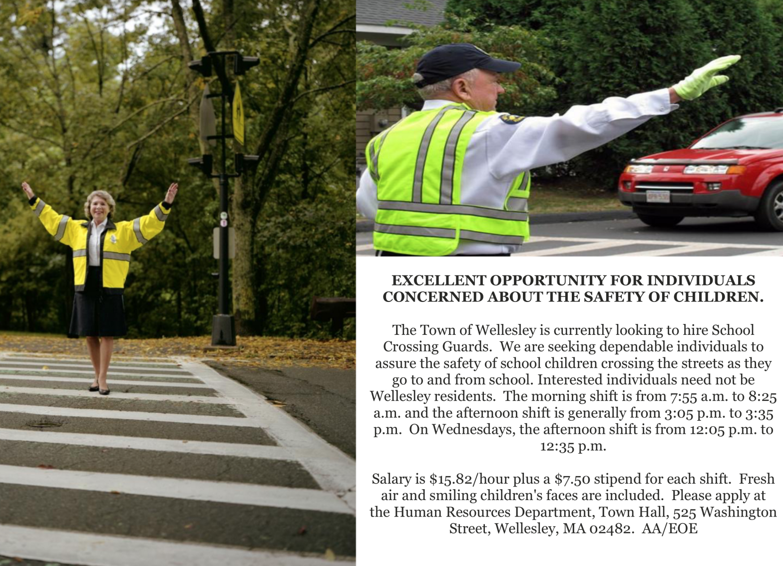 Wellesley Crossing Guards