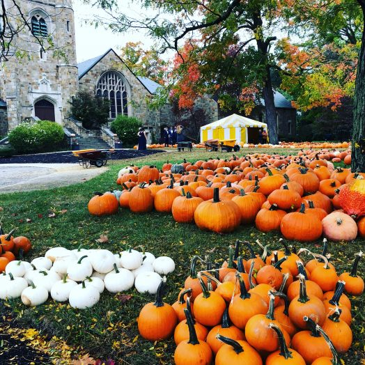 wellesley hlls church pumpkins