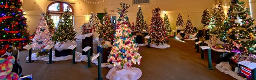 Mass Hort, Wellesley, Festival of Trees