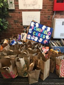 Schofield Fall Food Drive