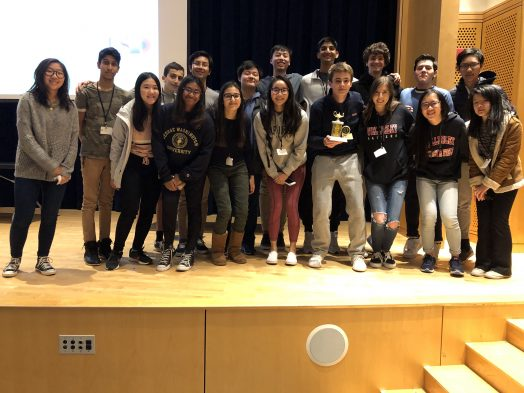 Wellesley High School Academic Decathlon Team