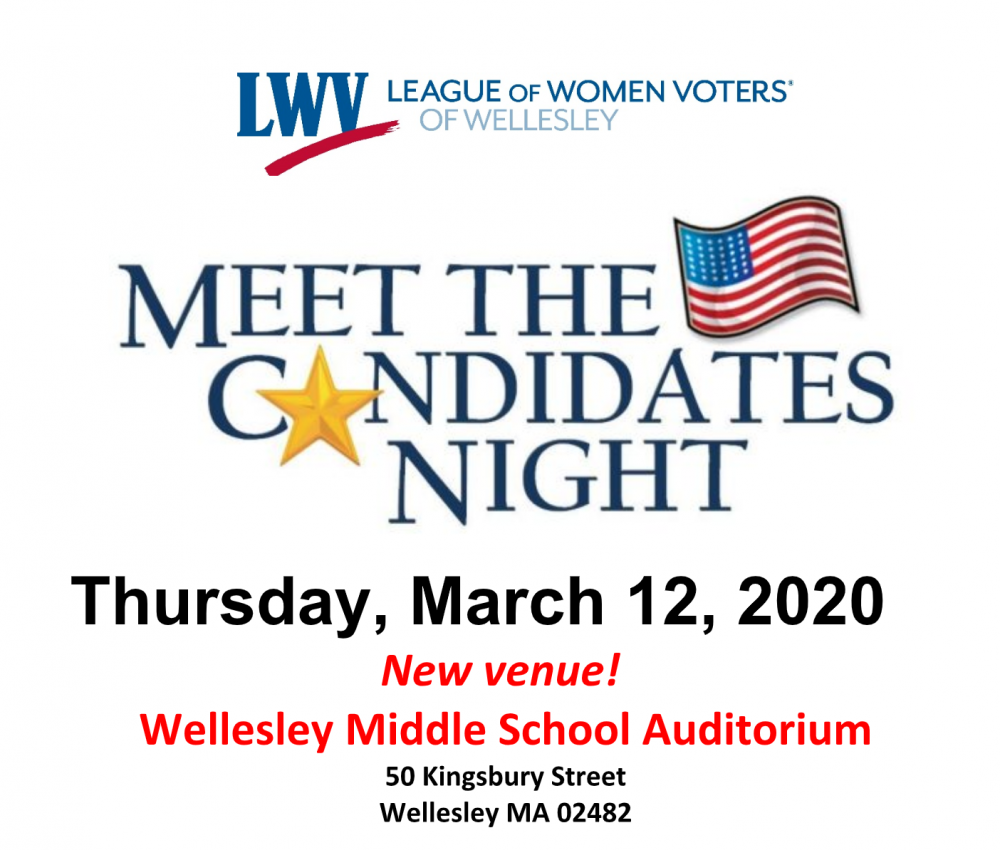 Meet the Candidates, Wellesley