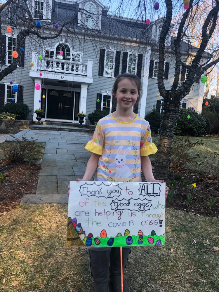 "Wellesley Girl Scout ""Good Egg"" project"