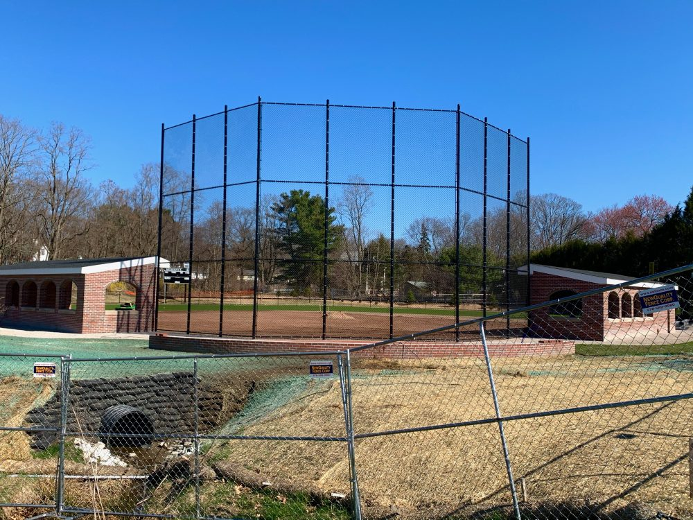Wellesley softball field, Lee Field