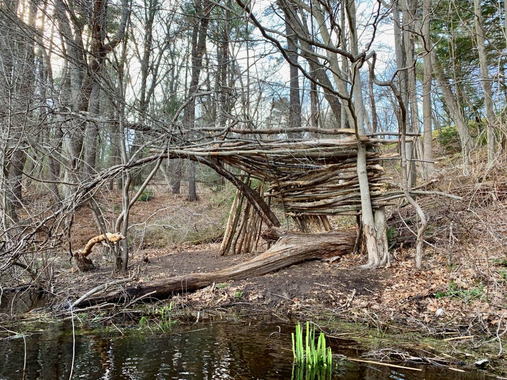 Charles River stick structure, Wellesley