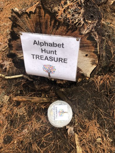 alphabet hunt treasure