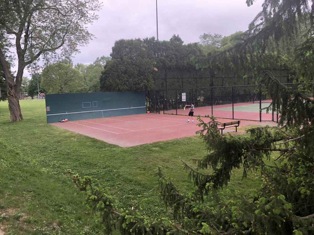 hunnewell tennis courts
