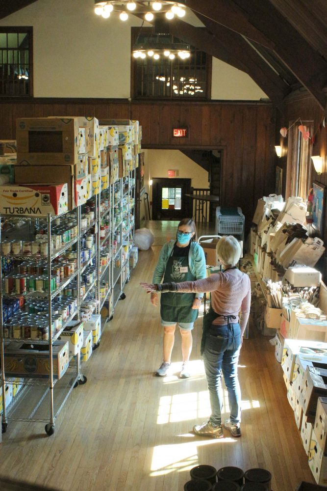 Food Pantry, UU Wellesley