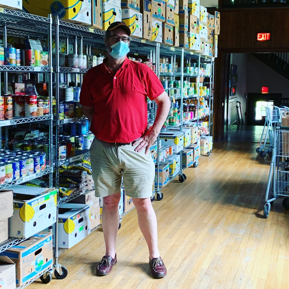 Wellesley Food Pantry, Peter Lull