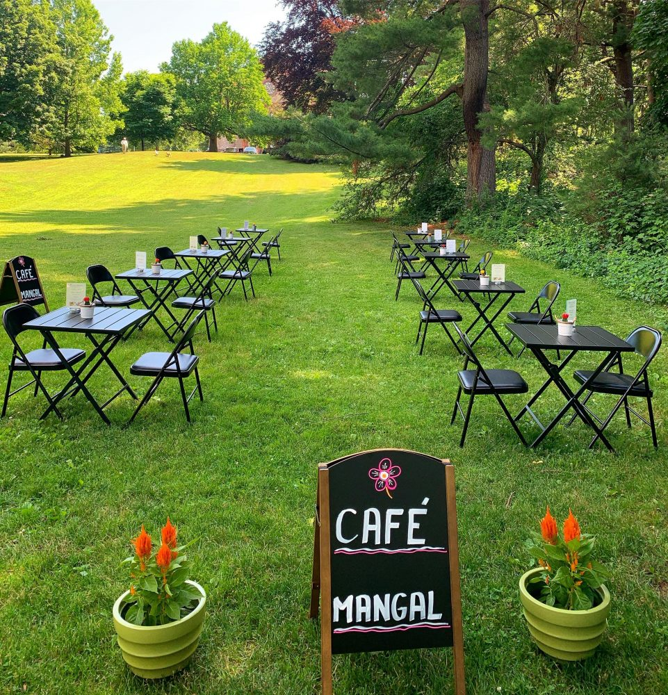 cafe mangal outdoors