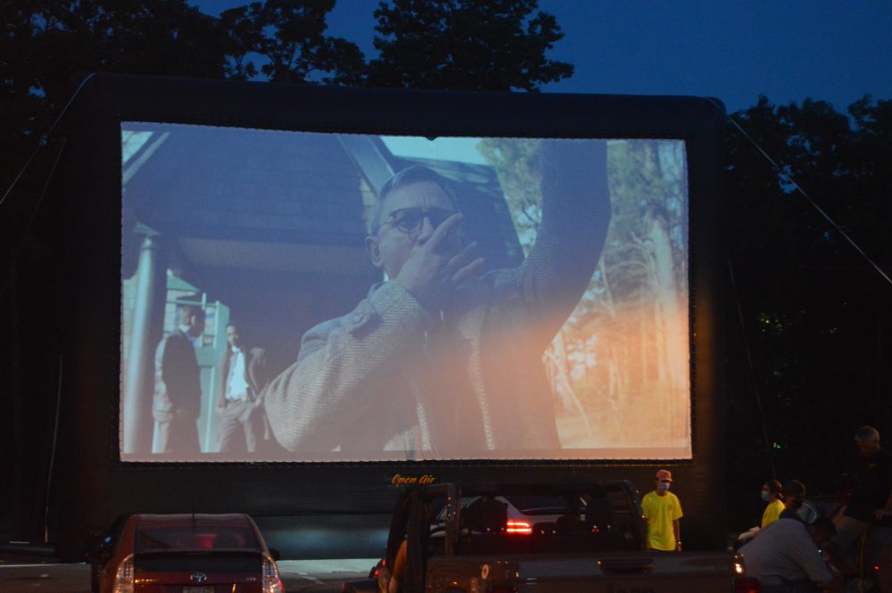 wellesley drive in movie knives out