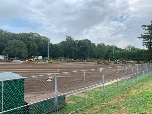 Diane P. Warren softball field turf rolls