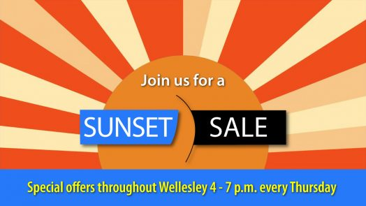 Sunset Sale, Wellesley