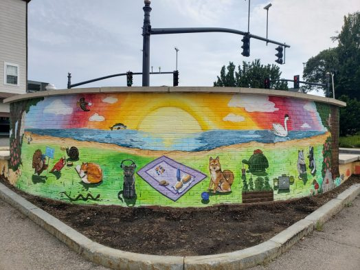 Linden Square mural
