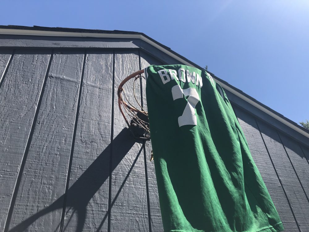 Jaylen Brown jersey hoop