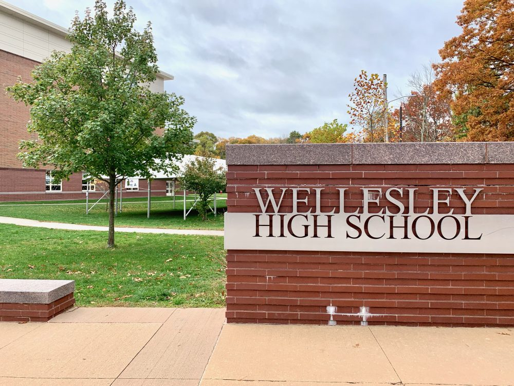 Wellesley High School, fall 2020