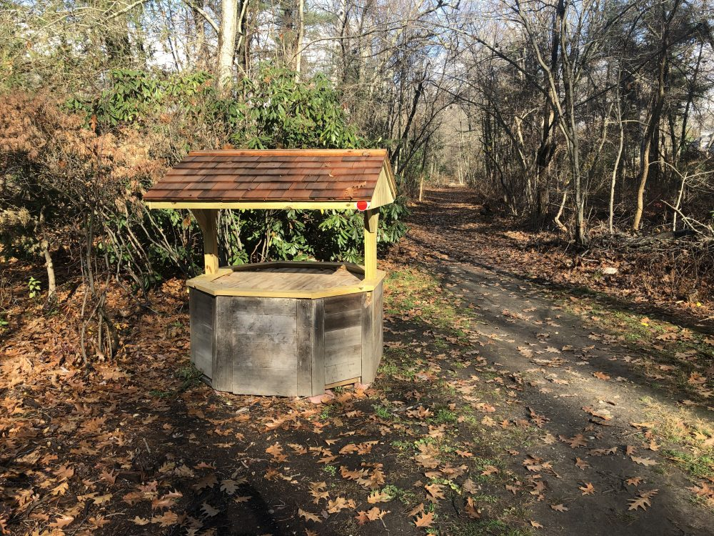 wishing well guernsey path