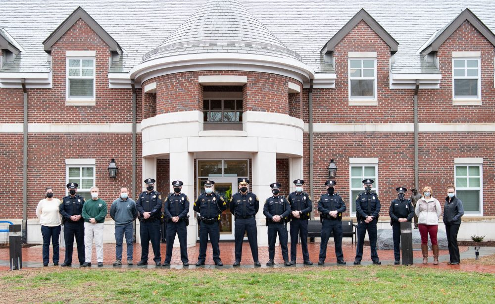 COVID-19 Fund money will help purchase winter masks for the Wellesley Police Department to help standardize uniforms and provide key PPE reinforcement for the community.