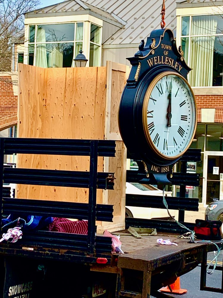 Wellesley Square clock