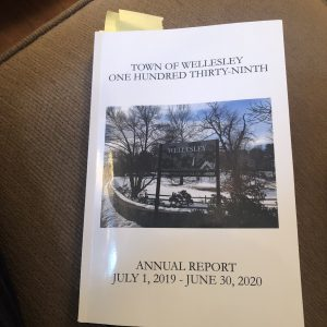 wellesley annual report