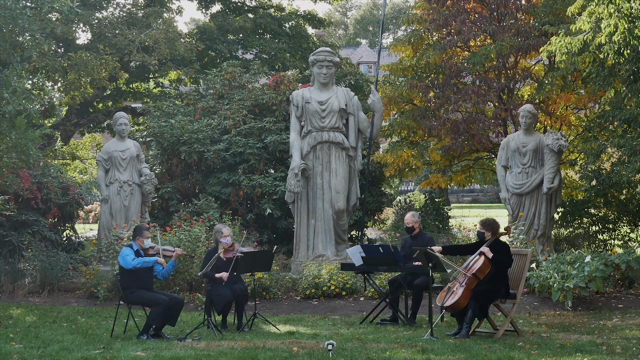Music in the Garden at Elm Bank with the Wellesley Symphony Orchestra