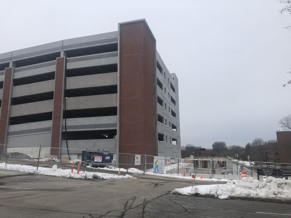 40r project at Wellesley office park