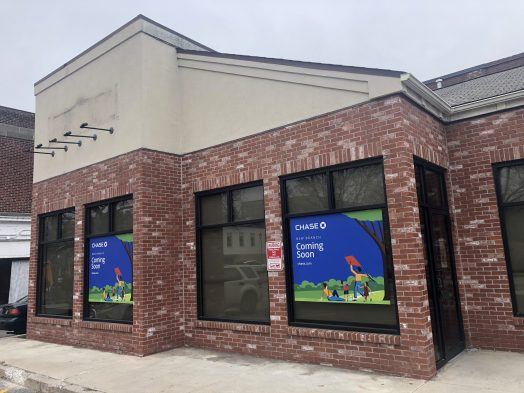 chase bank coming to wellesley