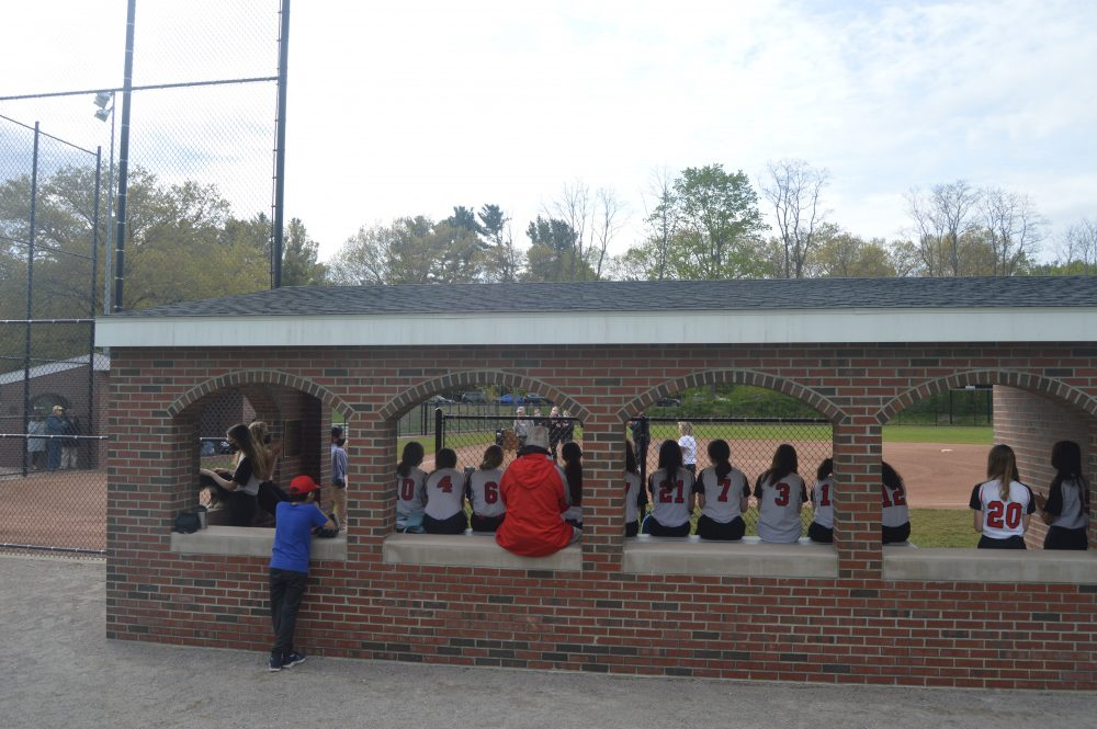 wellesley softball dedication