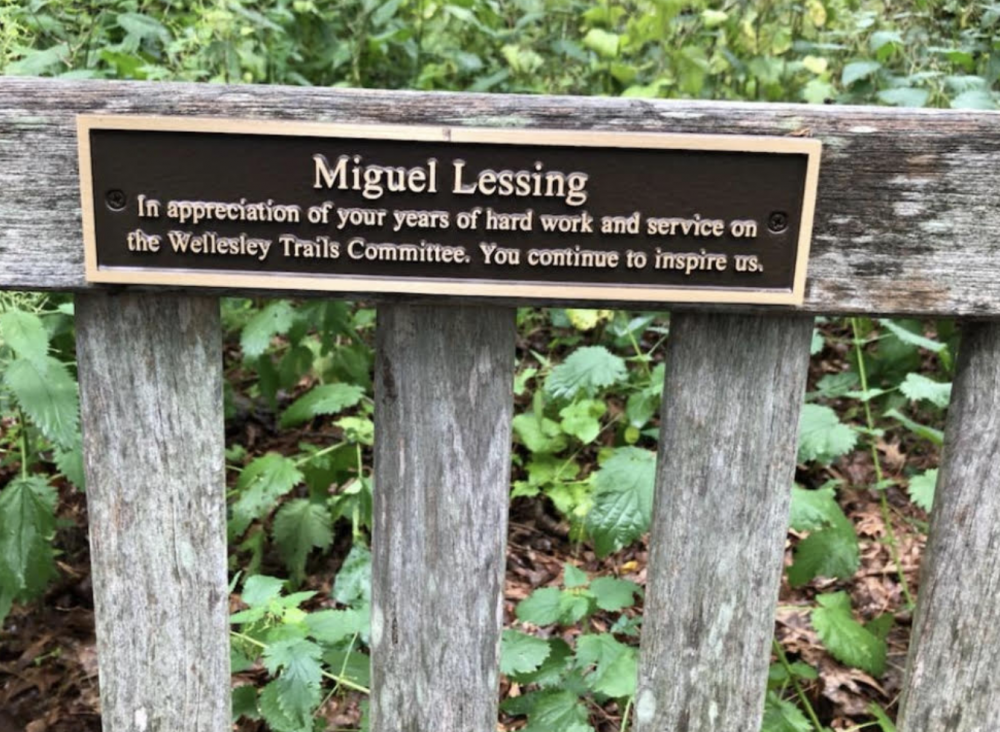 miguel trails bench