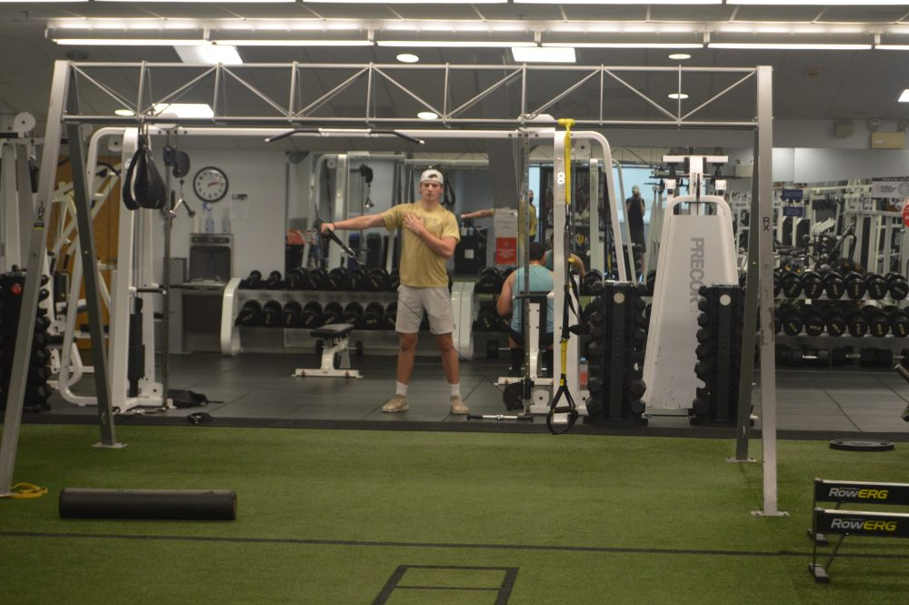 free weight room bsc